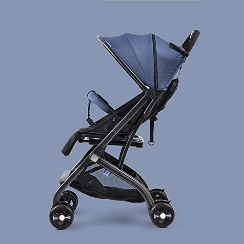 Faltbare Kinderwagen Kinderwagen Kinderwagen Kind-Kleinkind Buggy Einstellbare High View Reise, Mehrfarbauswahl,a