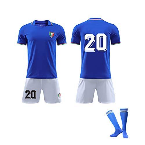 AWJK Golden Boy Paul Rossi Memorial Jersey 1920 Italienische Fans Gedenktrikot Nr. 20 Fußballtrikot, E, M