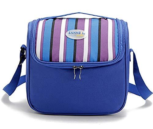 Thermique pour le déjeuner Pack de glace sacs de stockage de pique-niquer isolation sacs alimentaires,Purple