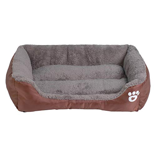 DSGJHJKTO Paw Pet Sofa Dog Beds Waterproof Bottom Soft Warm Cat Bed House