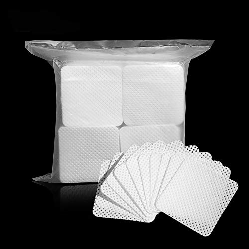 500Pcs Nail Pliosh Remover Wipes Cotton Lint Free Wipes Removal Gel Polish Nail Cleaner Nail Napkins Absorbable (500Pcs)