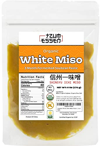 White Miso Paste (Shiro) 3 Month Fermented In a...