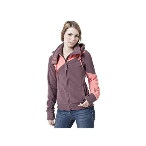 Sublevel Fleece Jacke, Größe:S;Farbe:Dark Brownish Red