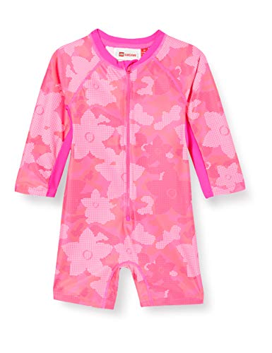 Lego Wear Lwangela UV Einteiler Lsf 50 Plus T-Shirt Anti, Rose (Dark Pink 474), 92 Bébé Fille