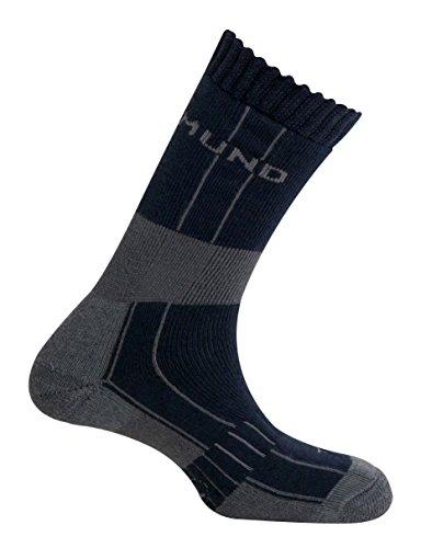 Mund Socks – Himalaya Wool Merino Thermolite, Couleur Navy, Taille EU 46 – 49