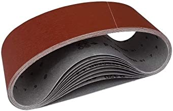 10 St/ück Schleifb/änder 65x410 65 x 410 mm P 240 passend f/ür Festo Holz her Metabo Bandschleifer K/örnung 240 P240 Korn240 240er