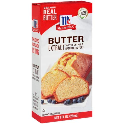 McCormick Butter Extract with Other Natural Flavors, 1 Fl Oz (Pack of 4)