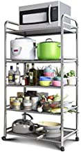 Home Living Museum/Wheeled Kitchen Racks Vegetable and Fruit Storage Rack Floor Storage Bathroom Bathroom Mobile Storage B...