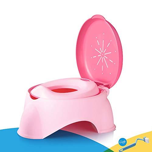LOHOX Amovible Pot Bébé Toilette Abattant Toilette Siège de Toilettes Trainer Pot WC Dossier Confortable Pot bébé pour Chaise Bébé Enfants