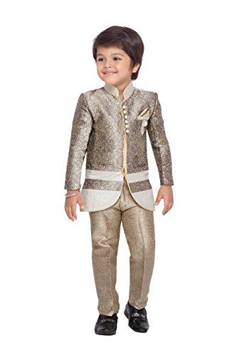 AJ Dezines Kids Indo Western Sherwani Set For Boys