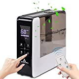 APPLYSU Cool Mist Humidifier for Bedroom 5.5L/1.45Gal, Germ-Free Ultrasonic Air Humidifier for Large Room With RC, Sleep Mode, 12H Timer, 3 Levels Mist, Auto Shut off and Essential Oil Aromatherapy