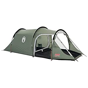 Coleman Coastline 2 Plus 2 Man Tent - Green/Grey
