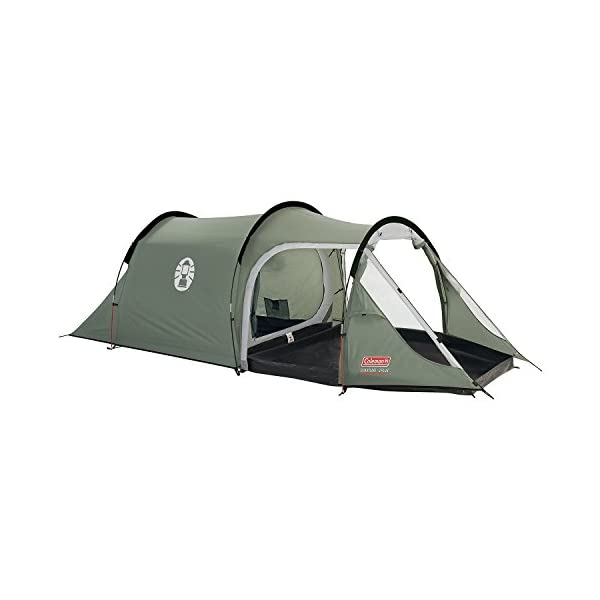 Coleman Coastline 2 Plus 2 Man Tent - Green/Grey