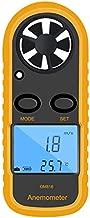 Wind Speed Meter, DTOWER Wind Speed Gauges Handheld Anemometer Portable Air Flow Meter CFM Meter with LCD Backlight for Outdoor Shooting Windsurfing Kiteflying Mountaineering Sailing Fishing