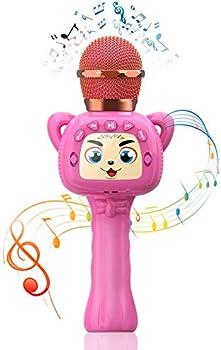 Homily Karaoke Portable Bluetooth Wireless Microphone for Kids