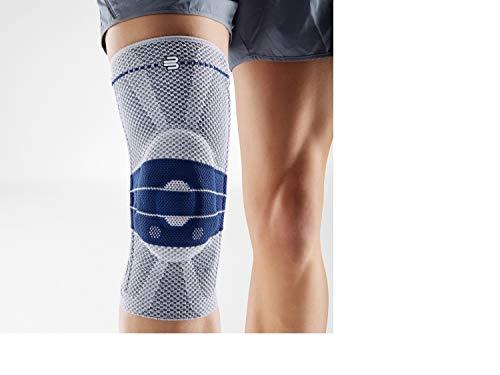 BAUERFEIND Kniebandage GenuTrain Unisex zur Entlastung, Titan, Größe: 5