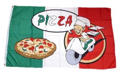 Fahne / Flagge Pizza Pizzeria 90 x 150 cm Flaggen