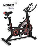 Monex iDeer Exercise Bike, Indoor Cycling Bike, Smooth & Quiet Stationary Spin Bike