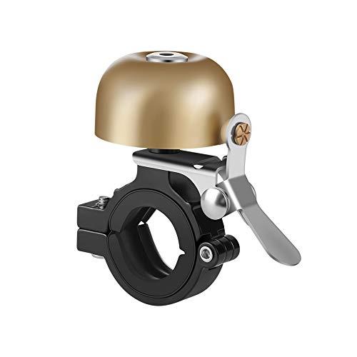 DuFirex Fahrradklingel Retro, Fahrradglocke aus Messing Laute Klingel Glocke Bike Bell für Straßenfahrräder Mountainbikes
