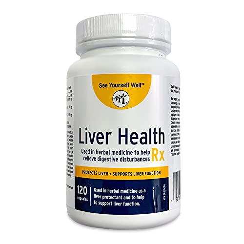 Liver Health Rx: Liver Cleanse, Detox, Regeneration, Fatty Liver Reversal. With Milk Thistle Extract. Protection from…