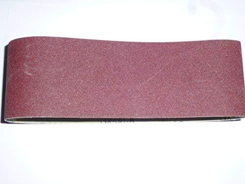 10 Stk. Gewebe-Schleifbänder 100x610 mm für Bandschleifer Mix Korn K40/60/80/120/180 Schleifband