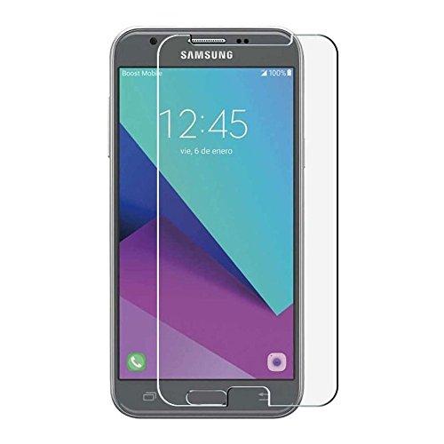 HQ-CLOUD 1 Film Vitre en Verre Trempé de Protection d'écran Transparent pour Samsung Galaxy J3 (J3 2017)