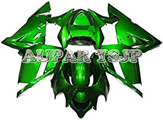 Complete Motorcycle Fairings for ZX10R 2004 2005 Year Injection ABS Plastic 04 05 Motorbike Covers Body Work Panels Kits Pure Green