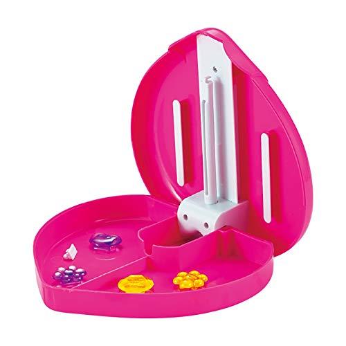 EFEF Juego de máquina para hacer tocados y pulseras, juego de tejer y tejer para joyas, traje de pelo trenzado, juguetes de regalo para niñas