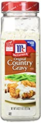 Powdered gravy mix made with McCormick herbs and spices Convenient 18 oz bottle is perfect for gravy lovers No MSG and no artificial flavors or colors added Expertly blended spices makes this country gravy mix a quick, delicious way to flavor meals D...