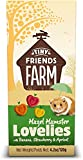 SupremePetfoods Tiny Friends Farm Hazel Hamster Lovelies with Banana, Strawberry & Apricot 4.2 oz - Pack of 2