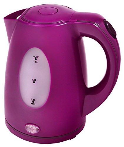 Efbe-Schott SC WK 5010 Wasserkocher, 1,5 L, 2000 W, Farbe Purple