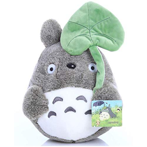 My Neighbor Totoro Pluche, Doll Pluchen Beest Toy Kid Sierkussen Decoratieve Holiday Verjaardag Vriendin Gift, Lotus Leaf,25cm