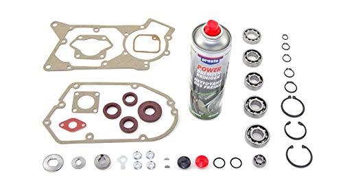 Lagersatz: Wellendichtringe, Kugellager, Dichtungssatz passend für Simson* S51, SR50, KR51/2 plus Motorenreiniger