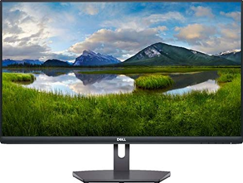 Dell 27-Inch IPS LED Monitor (S2721NX); FHD (1920x1080) up to 75Hz; 16:9; 4ms Response time; HDMI; AMD FreeSync, VESA - Black