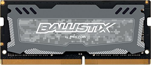 Crucial Ballistix Sport LT 2400 MHz DDR4 DRAM Laptop Gaming Memory Single 8GB CL16 BLS8G4S240FSD (Gray)