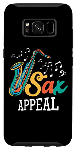 Galaxy S8 Saxophone Player Shirt Sax Appeal Saxophonist Band gifts Case