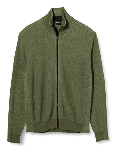 BOSS Herren Kimarly Jacke, Grün (Open Green 349), X-Large (Herstellergröße: XL)