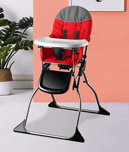 QKDSA Kinderstoel baby-eetkamerstoel verstelbare draagbare babyboosterstoel Voor leeftijd 6-48maanden