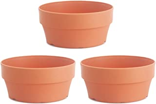 Hemoton 3Pcs Piccolo Vaso Succulento Imitazione Argilla Rotonda Cactus Fioriera Fioriera Succulenta Contenitore per Piante...