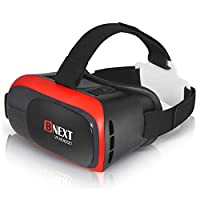 VR Headset Compatible with iPhone & Android - Universal Virtual Reality Goggles for Kids & Adults - Your Best Mobile Games 360 Movies w/ Soft & Comfortable New 3D VR Glasses