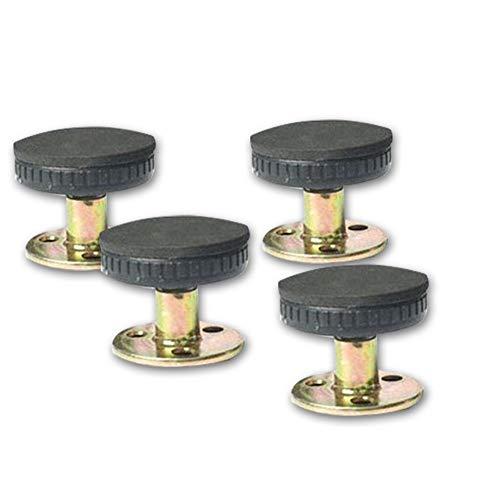 Myuilor 4 herramientas de marco de cama con rosca ajustable antivibración para cama, cabecero, cabecera de noche para evitar que se afloje, fijador antivibración (30 – 40 mm)