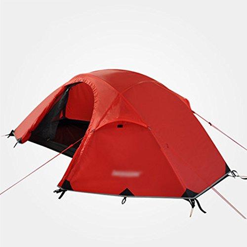 T/g/y/h Y/w/p/e Preuve Ultra-légère De Point, Preuve Imperméable Ouverte De Vitesse De Tente De Plage d'hiver Alpine Appropriée À 3-4 Personnes (Color : Orange)