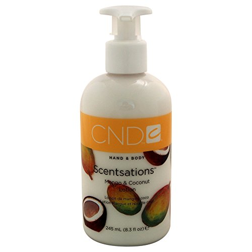 CND Hand- Bodylotion Scentsations Mango und Coconut, 1er Pack (1 x 245 ml)