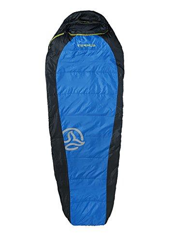 Ternua camplight 60 Sac de Couchage, Mixte Adulte, Bleu/Noir, Taille Unique