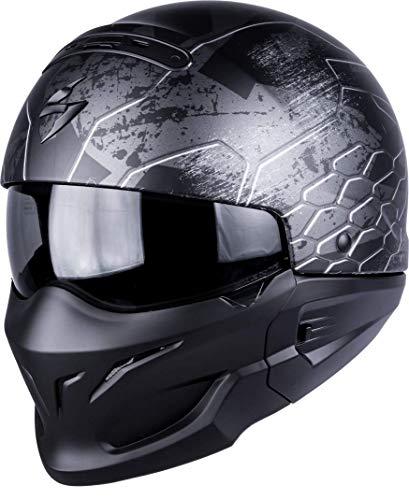 Scorpion Exo-Combat Ratnik Motorradhelm, XXL, Mattschwarz