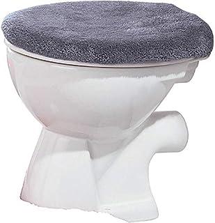 Liqiqi Wc Sitz Cover Blauer Elefant Muster Toilette Sitzbez/üge Bequeme Velvet Korallen WC Sitzbezug Toilettendeckelbezug Badezimmer WC-Sitz Mat Pad Kissen Toiletten Sitzbezug Standard Universalgr/ö/ße