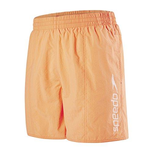 Speedo Scope 16 Wsht Amow Pantaloncini da Spiaggia Adulto, Giallo Fluo, S
