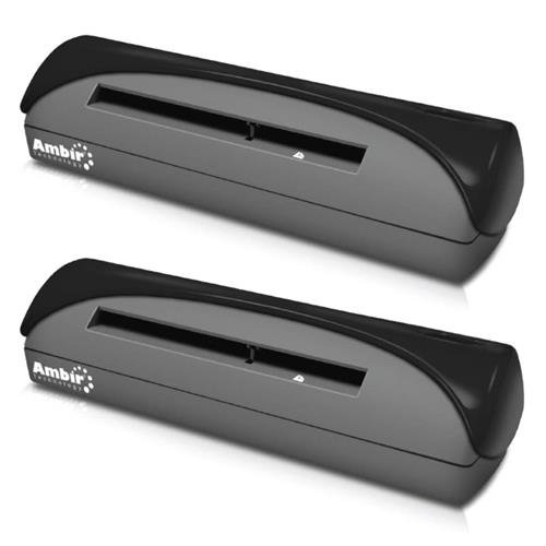 Review Of Ambir 2 Pack PS667-AS Simplex A6 ID Card Scanner with Scan, 7Sec per Single-Sided (Black&W...