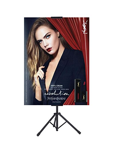 Poster Sign Holder for Board or Foam,Poster Sign Stand, Double Sided Stand,Adjustable Size up to 70�H24�W (Stand only)