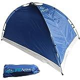 FE Active – Zelt für 1 bis 2 Personen mit Fliegengitter am Eingang, schnell und einfach aufgebaut, wasserabweisend für Zelten, Rucksackurlaub, Wandern, Radtouren | In Kalifornien, USA entworfen